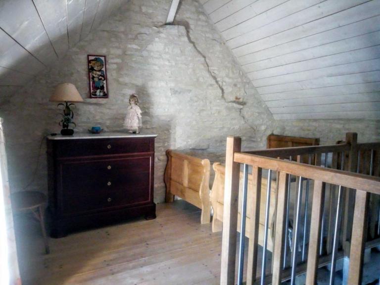 chambre mezzanine 2 lits séparés