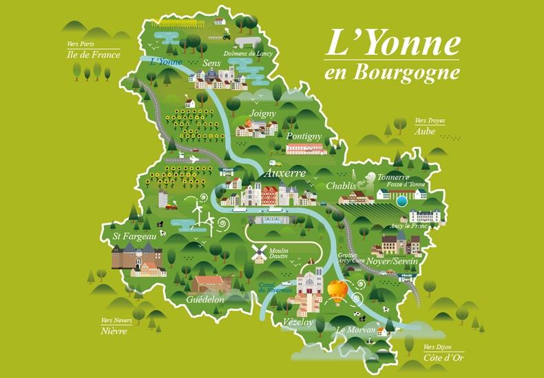 yonne en Bourgogne